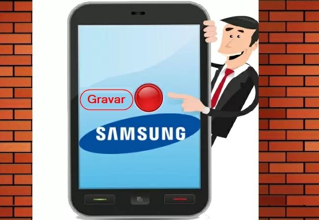 Gravadores De Tela Para Samsung